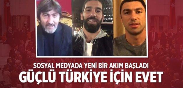 """Güçlü bir Türkiye için """"EVET""""?"""