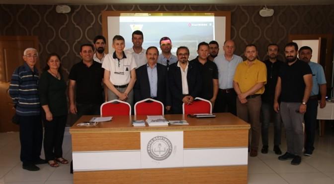 """""""KAPIKAYA FEST"""" İÇİN BASIN TOPLANTISI YAPTIK"""