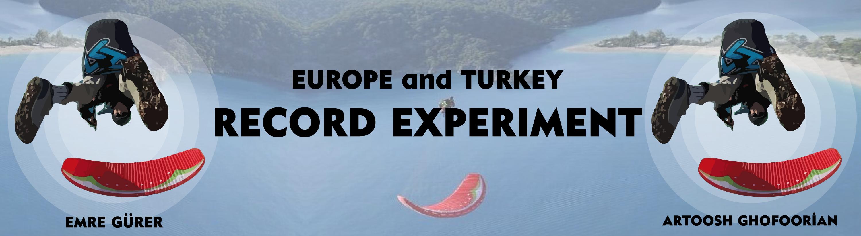 """. İran ve Türkiye adına Artossh Gofoorian 4000 metreden """"Infinity tumbling"""" (Sonsuz Takla) atlayışı yaparak Avrupa ve Türkiye rekorunu kırmaya deneyecek."""